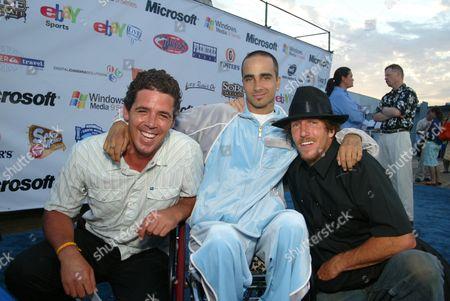 Peter Mel, Jesse Billauer and Kenneth Collin