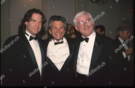Ted Was, David Leisure and Phil Donahue