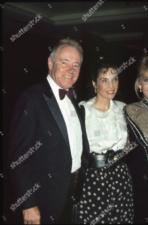 Jack Lemmon and Talia Shire