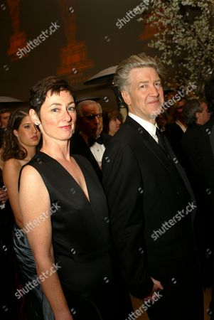 03-24-02  Hollywood, CA Mary Sweeney and David Lynch at the Governor's Ball Post 2002 Academy Award Party Photo®Alex Berliner/BEI