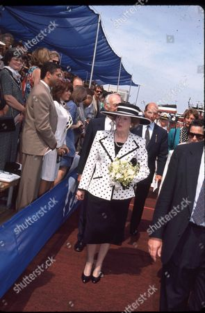 Margaret Thatcher and Sir Denis Thatcher