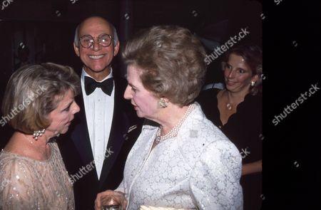 Gavin McLeod and Margaret Thatcher