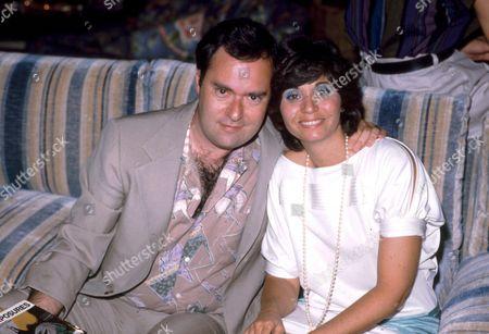 David Lander and wife Kathy Fields