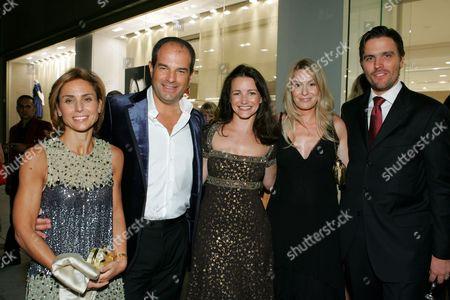 Chiara & Massimo Ferragamo, Kristin, Louise & James Ferragamo