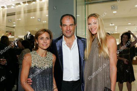 Chiara & Massimo Ferragamo and Kelly Lynch