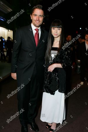 James Ferragamo and Chiaki Kuriyama