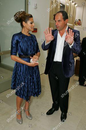Eva Mendes and Massimo Ferragamo