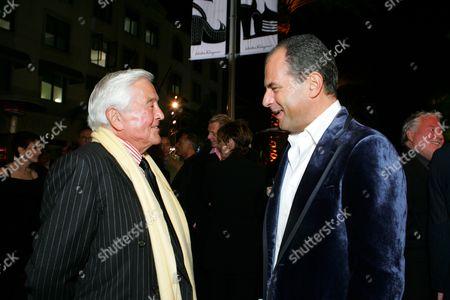 Fred Hayman and Massimo Ferragamo