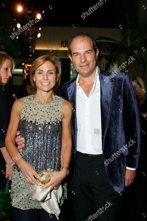 Chiara and Massimo Ferragamo