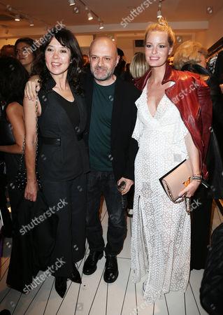 Katy England, Hussein Chalayan MBE and Caroline Winberg