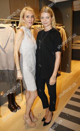 Sarah Woodhead and Jemma Kidd