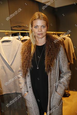 Jemma Kidd wearing Fabiana Filippi coat