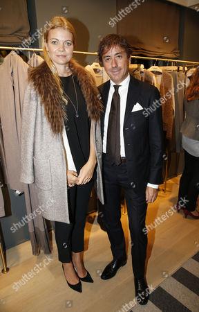 Jemma Kidd wearing Fabiana Filippi coat and Mario Filippi