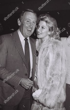 Vin Scully and Sandra Hunt