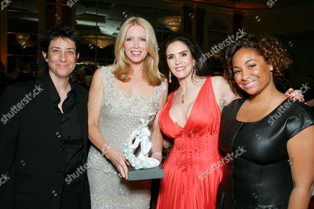 Carolyn Strauss, Susan Casden, Barbara Lazaroff and Raven-Symone