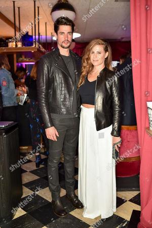 Christopher Leoni and Francesca Versace