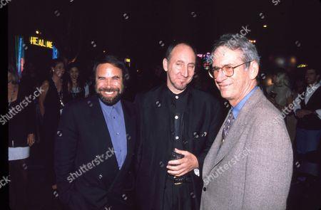 Al Teller, Pete Townsend & Sid Sheinberg