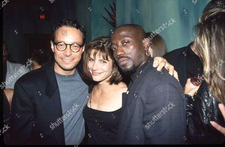 Marco Brambilla, Sandra Bullock & Wesley Snipes