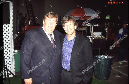 Stock Photo of John Candy and Joe Roth