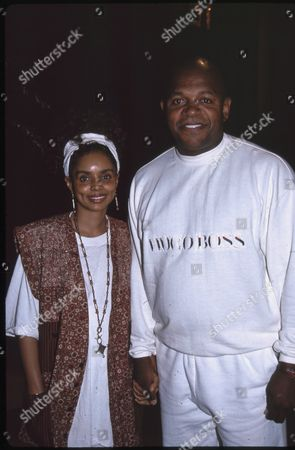 Stock Picture of Debbie Morgan and Charles Dutton