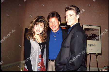 Carol Ann Plant, Rick Dees and Brian Austin Green
