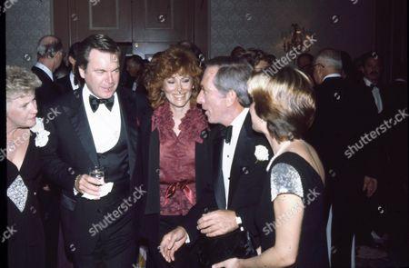 Robert Wagner, Jill St. John, Andy Williams