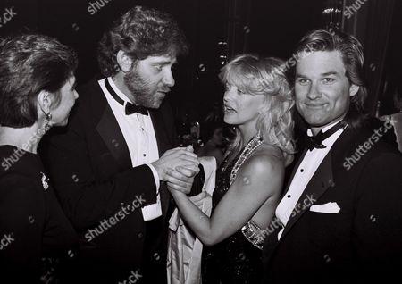 Richard Masur, Goldie Hawn, Kurt Russell
