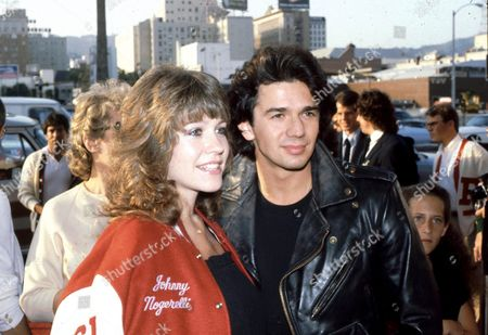 Adrian Zmed and wife Susan Wood