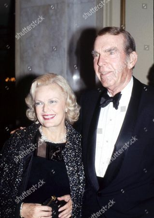 Fred MacMurray and wife June Haver