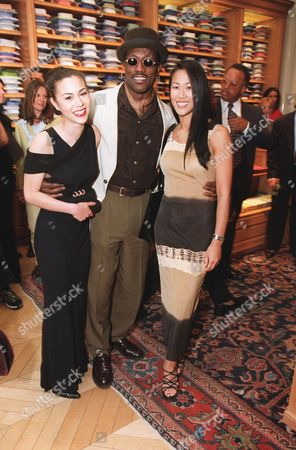 China Chow, Wesley Snipes and Donna Wong