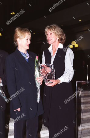 Meryl Streep and Sarah Purcell