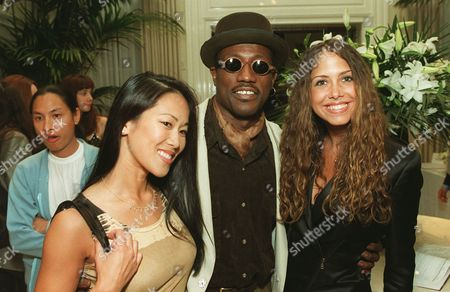 Donna Wong, Wesley Snipes and Samantha Cole
