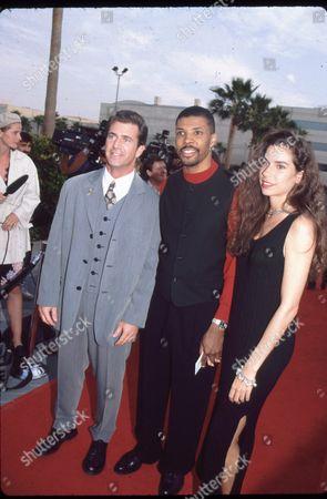 Mel Gibson and Eric La Salle