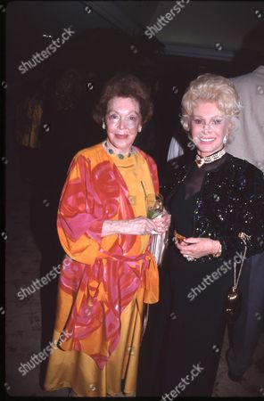 Maureen O'Sullivan and Eva Gabor