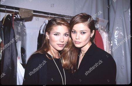 Stock Image of Jennifer Flavin and Tatiana Sorokko