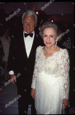 Eddie Albert and Joan Smith
