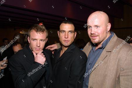 Guy Ritchie, Vinnie Jones & Adam Fogerty