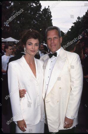 Steve Tisch and Stephanie Romanov