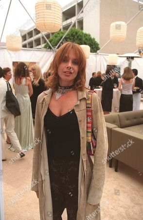 """20000621  Beverly Hills, CA Rosanna Arquette at the Harper's BAZAAR """"Who's Who in July"""" party and dinner hosted by Harper's BAZAAR Editor-in-Chief Kate Betts and held at Mr. Chow's. Photo®Alex Berliner/BEI     A006197-34"""