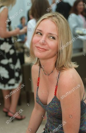 """20000621  Beverly Hills, CA DeeDee Pfeifer at the Harper's BAZAAR """"Who's Who in July"""" party and dinner hosted by Harper's BAZAAR Editor-in-Chief Kate Betts and held at Mr. Chow's. Photo®Alex Berliner/BEI     A006197-18"""