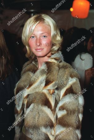 """20000621  Beverly Hills, CA Maggie Rizer at the Harper's BAZAAR """"Who's Who in July"""" party and dinner hosted by Harper's BAZAAR Editor-in-Chief Kate Betts and held at Mr. Chow's. Photo®Alex Berliner/BEI     A006199-27"""
