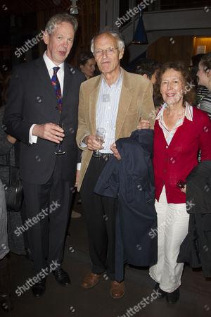 Greg Ripley-Duggan (Executive Producer), Michael Frayn and Claire Tomalin