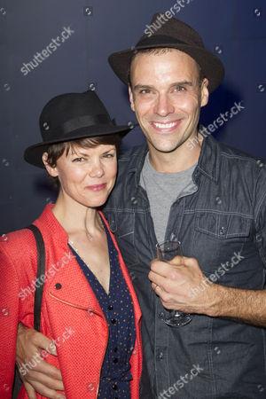 Sarah-Jane Potts and Joseph Millson (David Garrick)