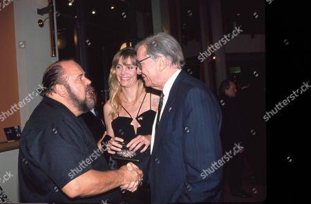 Dom DeLuise, Gretchen Becker & Martin Landau