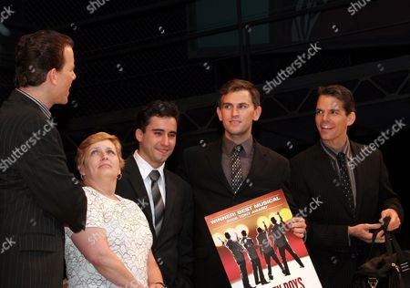 Christian Hoff, John Lloyd Young, Daniel Reichard, Bobby Spencer