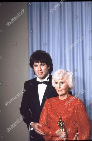 John Travolta and Barbara Stanwyck
