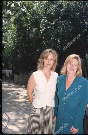Susan Dey and Tipper Gore