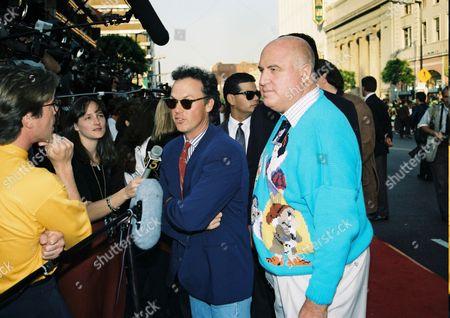 Michael Keaton and Publicist Paul Bloch