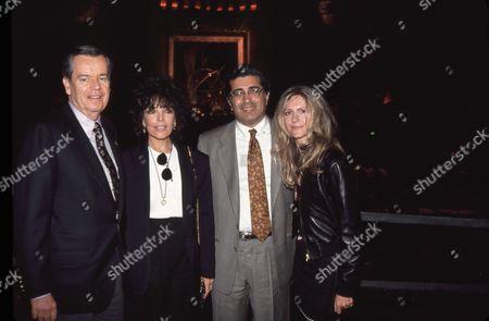 Robert Daly, Carole Bayer Sager, Terry Semel, Jane Semel
