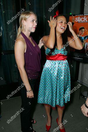 Maddy Curley and Nikki Soohoo